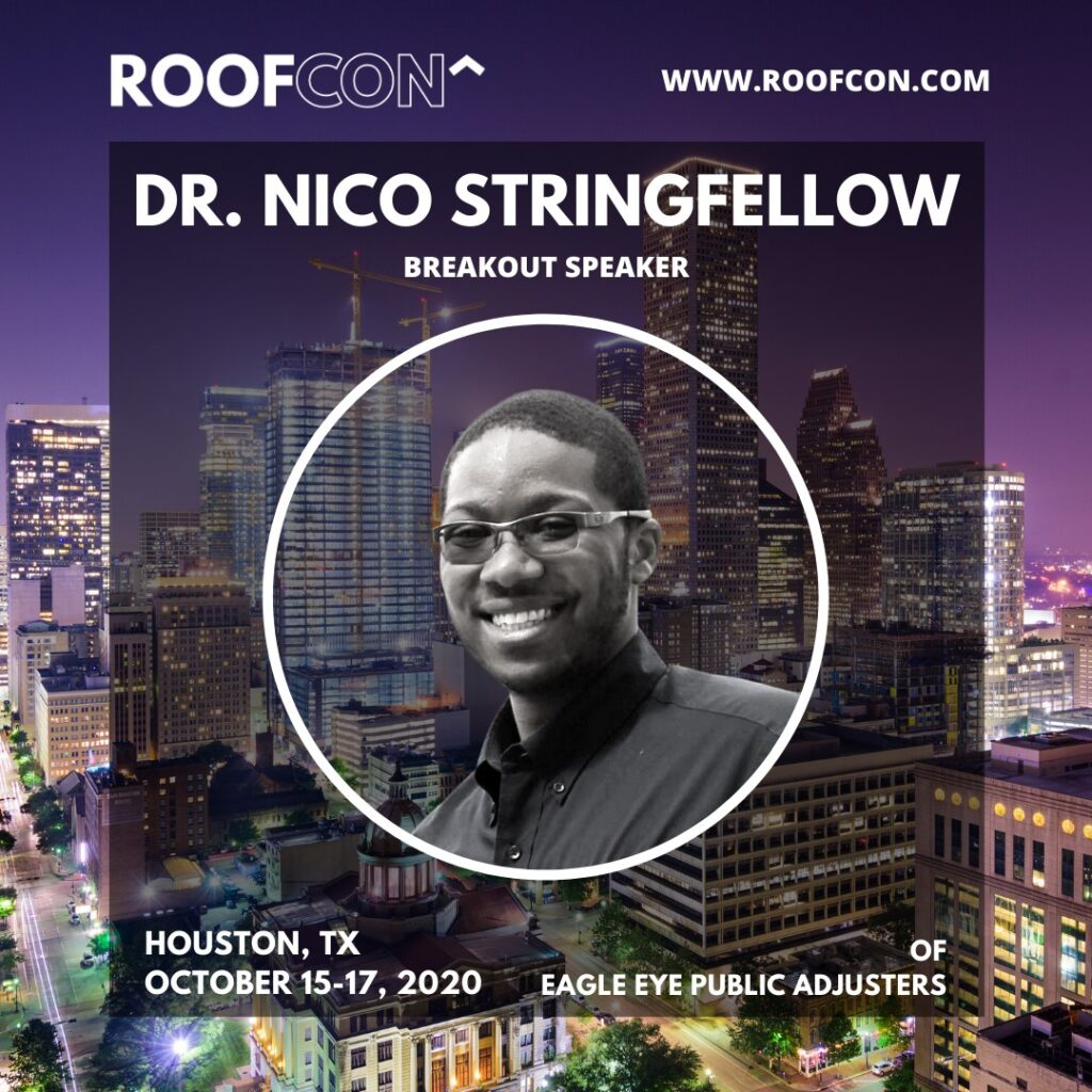 Nico Stringfellow Roofing Convention