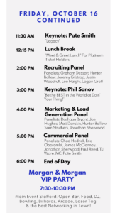 RoofCon 2020 Schedule
